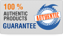 100% Authentic Products Guarantee